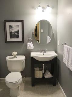 10+ Beautiful Half Bathroom Ideas for Your Home | Powder room ...