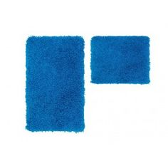 Ook een badmat in blauwe kleur, kijk snel op trendymeubels.nl