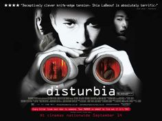 *Disturbia with Shia LaBeouf - Great thriller.      This is a keeper for me.