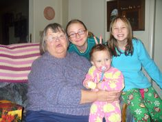 MY Mom and the Grand girls