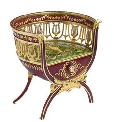 The Imperial Fabergé Chair - Chief Workmaster: Michael Evamplevitch Perchin, St. Petersburg, 1896-1903