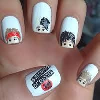 Look what i found!!! 5sos nails:)
