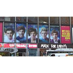 One direction. Time square NY