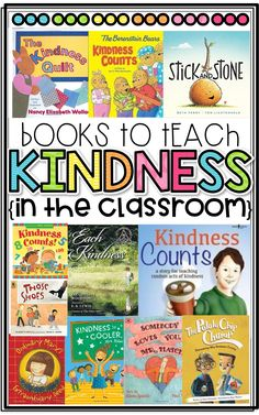 Books to Teach Kindness in the Classroom!