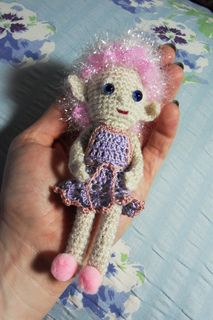 Crochet Pocket Spirit Doll by Beth Ann Webber   Free pattern download