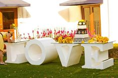 Weddings and events are all a little nicer with the love table.