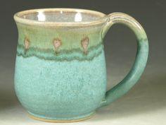 So lovey! I love the color of this handmade mug. #agteam