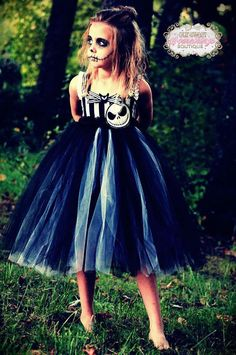 Jack Skellington Skeleton Inspired Nightmare Before Christmas Tulle Tutu Dress Costume Infant to Girls by OurSweetSomethings4U on Etsy https://www.etsy.com/listing/206712163/jack-skellington-skeleton-inspired