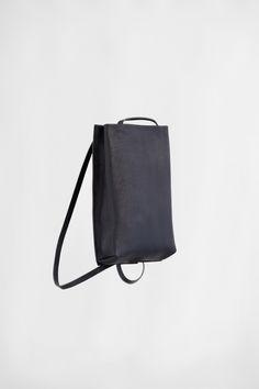LARGE BLACK TOTE PACK | CHIYOME - Minimalist Handbags