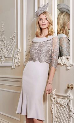Select your beautiful John Charles mother of the bride outfit in Devon's Frilly Frocks Bridal Shop. Ascot Dresses, Mob Dresses, Dresses With Sleeves, Wedding Dresses, Wedding Outfits, John Charles, Occasion Spéciale, Formal Wear Women, Bride And Groom Gifts