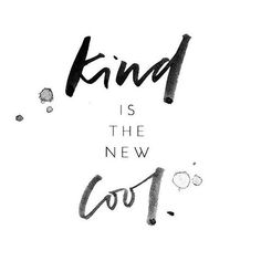 Saying that kind is the new cool can either be perceived as a powerful statement or a superficial one depending on how you view it. For me, it's positive... Click to continue reading.  | The Red Fairy Project