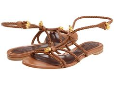 Alexander McQueen Sandal Pelle S. Cuoio