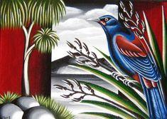 NZ Birds & Landscape - TashArt Zen Doodle, Doodle Art, New Zealand Art, Nz Art, Kiwiana, Coffee Poster, Travel Posters, Pet Birds, Art Images