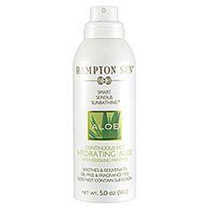 Hampton Sun - Continuous Mist Hydrating Aloe