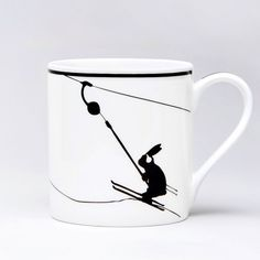 HAM Rabbit Mug's available from Hus & Hem. (www.husandhem.co.uk) We can't think of a better way to start the day than having your morning brew in one of these fine bone china mugs with their minimal and brilliantly witty designs! Dish washer and microwave safe. Hand decorated in Stoke on Trent.