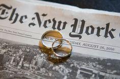 Intimate Summer Elopement at New York City Hall | New York, NY