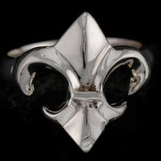 FLEUR DE LIS RING $60. www.rasnickjewelry.com