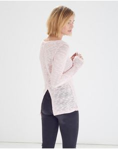 Light Pink Put Knitted Jumper