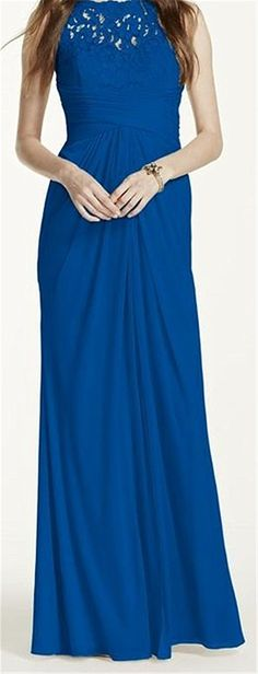 Endofjune Gorgeous Strapless Chiffon Floor-length Prom Dress Teal >>> Special product just for you. : mother of the bride dresses Navy Blue Bridesmaid Dresses, Wedding Bridesmaid Dresses, Prom Dresses, Bride Dresses, Mesh Dress, Lace Dress, Mesh Skirt, Navy Lace, Davids Bridal