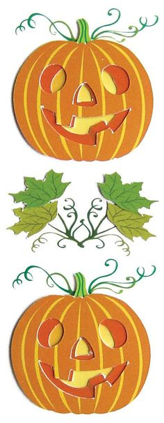 Jolee's Boutique Dimensional Stickers - Jack O Lanterns