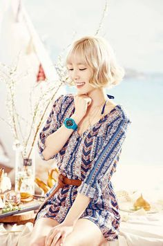 More of SNSD's hot and cool pictures for Casio Watches