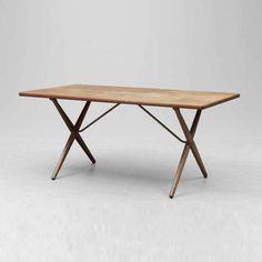 Hans J. Wegner, teak table,  Manufacturer Andreas Tuck