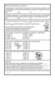 Algumas atividades de fixacao de matematica[1]
