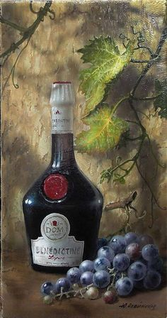Wine Painting, Fruit Painting, Still Life Photos, Still Life Art, Wine Bottle Images, Wine Bottle Glasses, Paint And Drink, Classic Artwork, Wine Photography