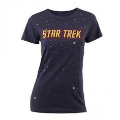 Star Trek Logo with Stars Women's T-Shirt
