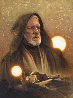Obi-Wan Kenobi by Jerry Vanderstelt