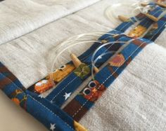 Circular Knitting Needle Wallet PDF Pattern by TheCraftJunky