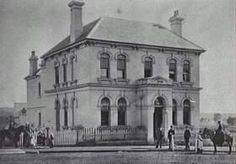The Commercial Banking Company Bank in Queen Street,Campbelltown in 1881.