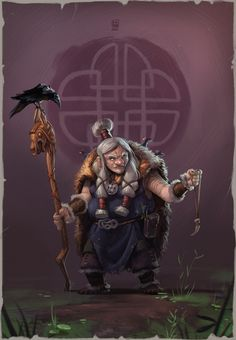 "ArtStation - Old Viking, ""biboun"" Christophe Fossard"