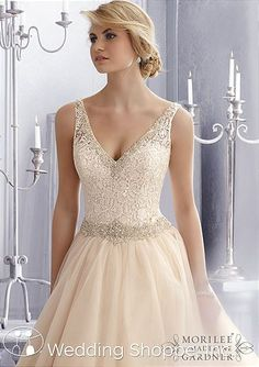 Mori Lee Bridal Gown 2684