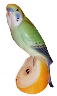Lomonosov Porcelain Wavy Parrot Kesha | eBay