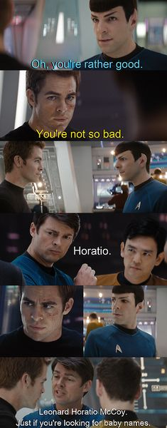 LOLOL Perfection! Star Trek/Sherlock crossover