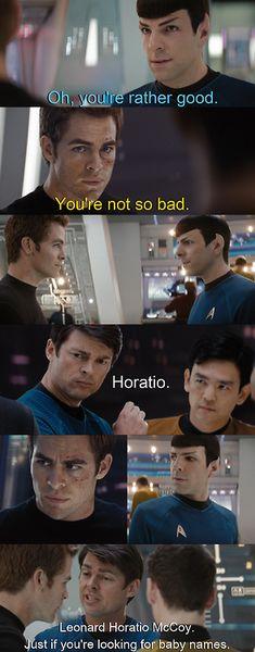 LOLOL Perfection! Star Trek/Sherlock crossover