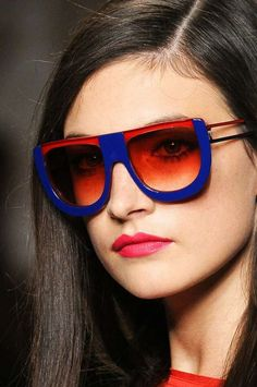 The Fendi Sunglasses Spring 2011 Collection Adds Candy-Colored Fun #fashion trendhunter.com