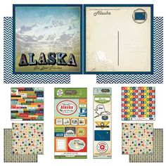 Scrapbook Customs Themed Paper and Stickers Scrapbook Kit Alaska Vintage *** Read more reviews of the product by visiting the link on the image.Note:It is affiliate link to Amazon.