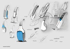 HEADPHONE CONCEPTS by Michael Barthels, via Behance