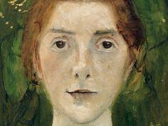 Paula Modersohn-Becker (German 1876–1907) [German Expressionism] Self-portrait, 1897.