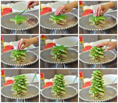 3D Cookie Christmas Tree / 24 Fun Holiday Treats To Make With Kids (via BuzzFeed)