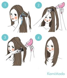 smooth hair blow