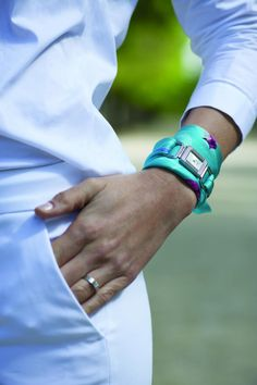 Nouvelles montres foulard Poiray - Toutpourlesfemmes