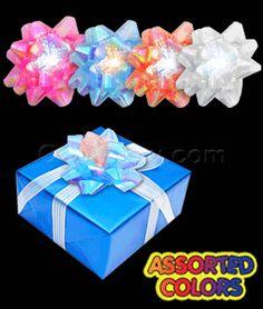 LED Fiber Optic Bow - Assorted #Christmas #holidays