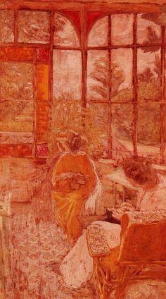 edouard vuillard, women sewing