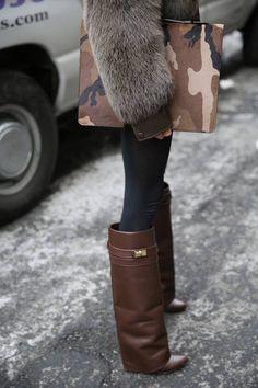 Again those boots