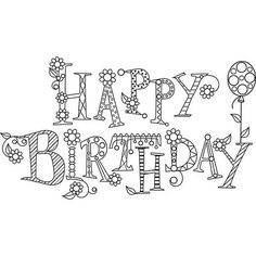 Birthday Postage Stamps | Hampton Art Hampton Art Mounted Rubber Stamp - Sparkle Happy Birthday