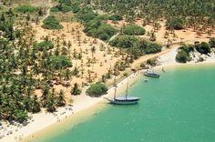Gunga Beach - Maceió. Brazil. www.selectlatinamerica.co.uk