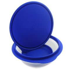 Healthy Diet Ian Silicone Pet Expandable/Collapsible Travel Bowl with Lid - Size: 2.5 Cups, Color: Blue by Alfie Pet, http://www.amazon.com/dp/B006B3DEZ8/ref=cm_sw_r_pi_dp_.q.5rb1NB477A